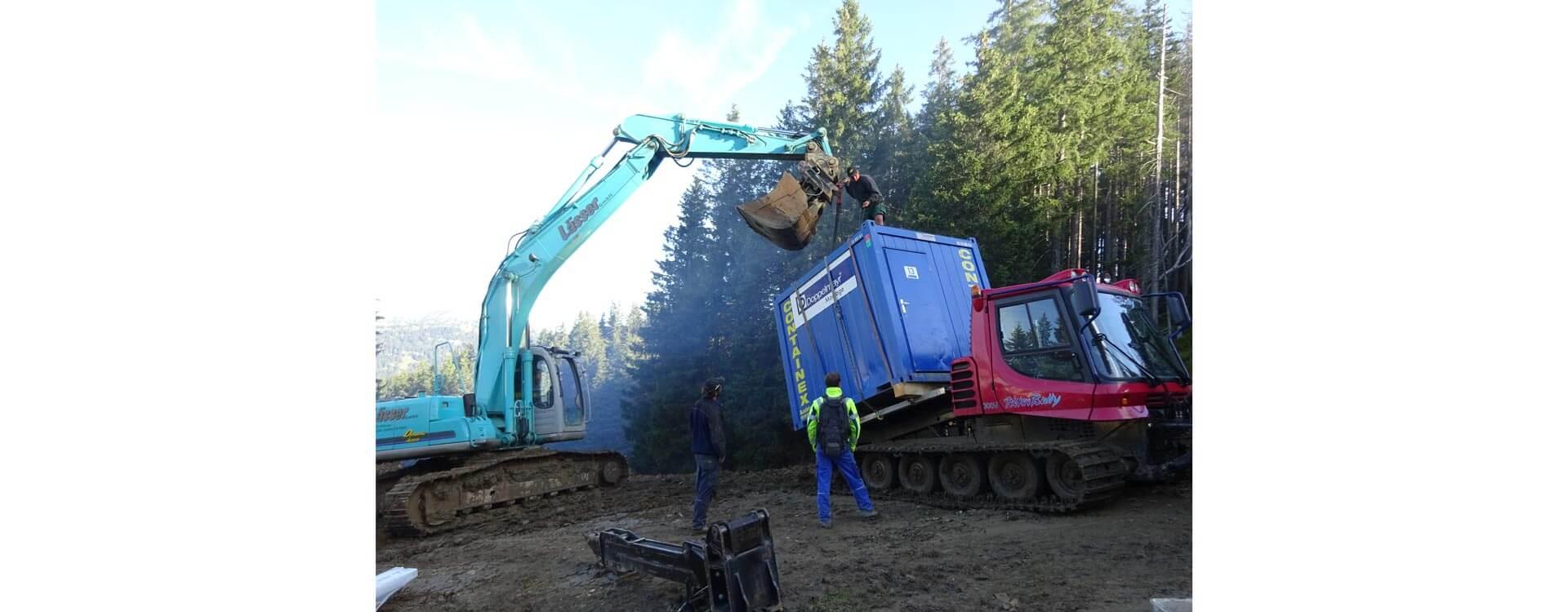 Seilbahnprofi urbaner Verkehr Berglift