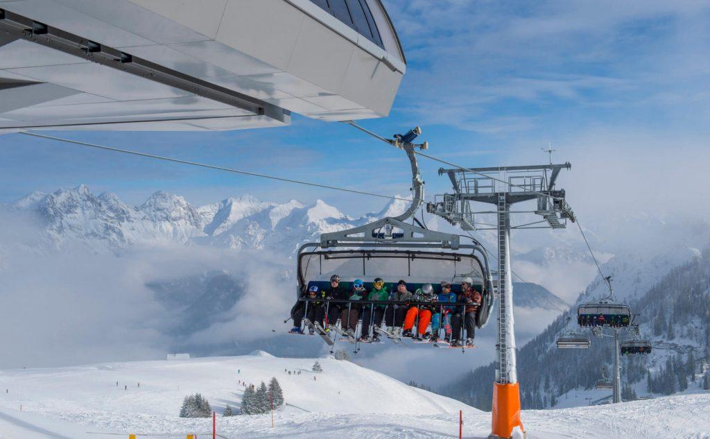 Skilift Berglift Wintersport Beförderung Schweiger