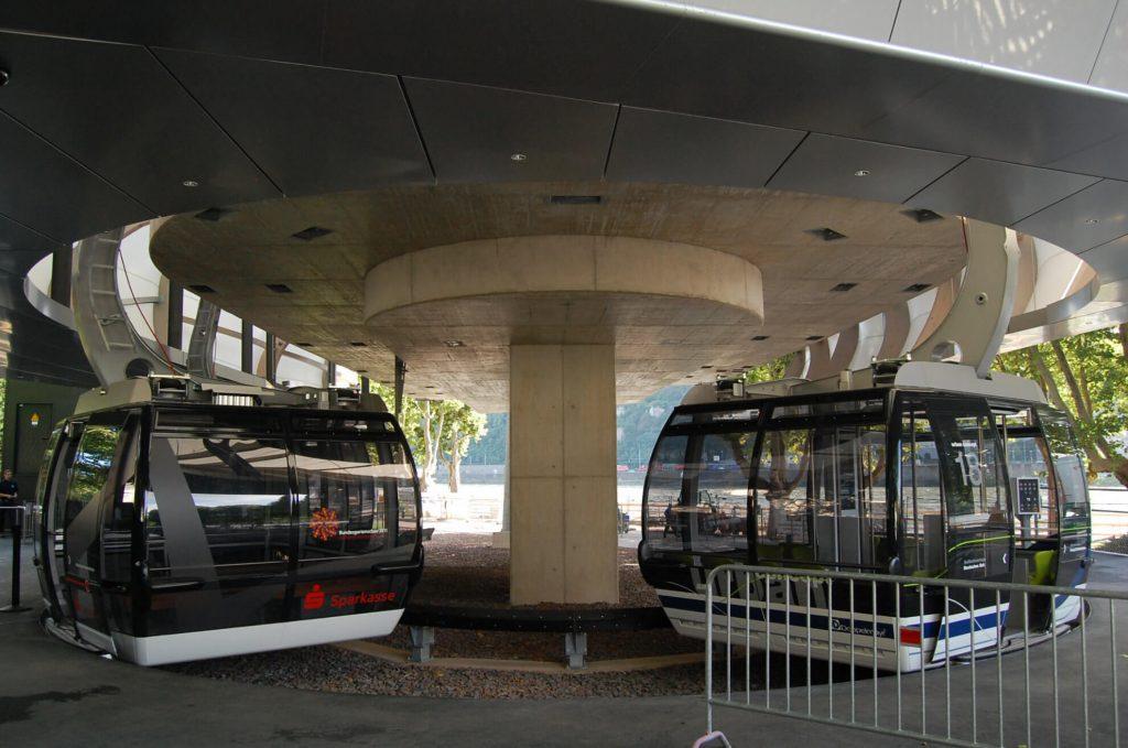 Stadtverkehr urbane Seilbahn Personenbeförderung